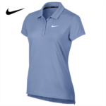 P128607 Nike polo shirt lapel female short-sleeved T-shirt NIKE tennis golf shirt solid color Paul 830 422