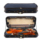 G558122 Ho into wooden violin box two loaded four loaded two small boxes installed more than two viola Qin He only installed