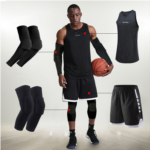 Z646397 Tights male basketball equipment Sports Safety Leggings warm tights stockings leggings knee-seventh Calf