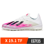 D165535 Adidas Adidas high-end X 19.1 TF broken nails artificial grass football training and competition shoes men EG7135