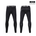 R580092 Seven white tights male basketball sports training treadmill crash female quick-drying high elastic nine Leggings