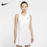 R183719 Nike / Nike MARIA Wimbledon 2020 tennis dress female pleated skirt flounced movement CK7997
