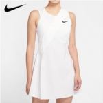 P296398 Nike Nike tennis dress Sharapova Wimbledon 2020 female pleated skirt flounced movement CK7997