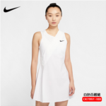 Z961105 Nike Nike tennis dress 20 women's sports and leisure Wimbledon hollow pleated skirt CK7997-100
