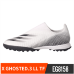 T316932 Adidas Adidas X GHOSTED.3 LL TF broken nails people grass soccer shoes without laces male EG8158