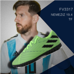 A994789 Adidas NEMEZIZ 19.3 TF broken nails male training Massey in the end people grass soccer shoes FV3994