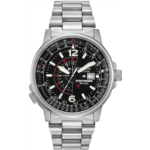 L323918 [관부세포] Citizen Men's Eco-Drive Promaster Nighthawk Dual Time Watch with Date, BJ7000-52E