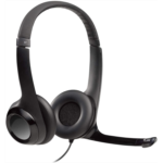 N803717 Logitech USB Headset H390 with Noise Cancelling Mic