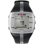 H657216 Power Systems Polar FT7 Heart Rate Monitor, Exercise Training Watch, Black/Silver (92018)