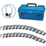 B454604 [관부세포] Hamilton Buhl Lab Pack, 24 MS2L Personal Headphones in a Carry Case