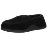 N418091 ISOTONER Men's Microterry Slip on Slippers