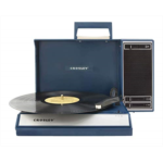 U395534 [관부세포] Crosley CR6016A-BL Spinnerette Portable USB Turntable with Software for Ripping and Editing Audio, Blue