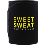 W643613 Sports Research Sweet Sweat Premium Waist Trimmer (Yellow Logo) for Men & Women. Includes Free Sample of Sweet Sweat Gel!