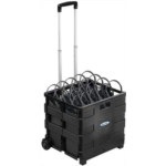 N627305 [관부세포] HamiltonBuhl EZ/50 - Rolling Crate Packed with 50 Personal Economy Headphones