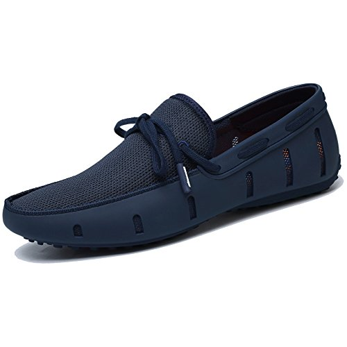 R242629 Adadila Men's Classic Braided Lace Loafer Breathable Slip On Ultra Light Shoes