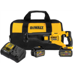 E447087 [관부세포] DEWALT FLEXVOLT 60V MAX Cordless Reciprocating Saw Kit, 2 Batteries (DCS388T2)