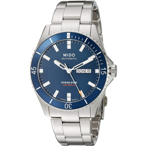 W269082 [관부세포] Mido Men's M026.430.11.041.00 Ocean Star Analog Automatic Blue / Silver Stainless Steel Watch
