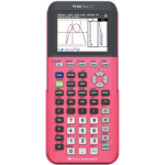 I406861 Texas Instruments ti-84 Plus Ce Color Graphing Calculator, Coral