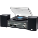 V101252 [관부세포] Teac MCD800B 20-watt Turntable System with AM/FM/CD/Wireless Technology in Black