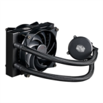 M897372 [관부세포] Cooler Master MasterLiquid 240 CPU Cooler, All-in-One Liquid Cooler, Dual Chamber Design, 120mm x 2 MasterFan Air Balance Fans