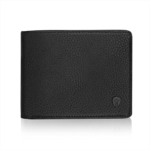 W352780 2 ID Window RFID Wallet for Men, Bifold Side Flip, Extra Capacity Travel Wallet (Texas Brown - Distressed Leather)