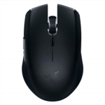 R897103 [관부세포] Razer Atheris Ambidextrous Wireless Mouse: 7200 DPI Optical Sensor - 350 Hr Battery Life - USB Wireless Receiver & Bluetooth Connection - Classic Black