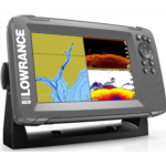 L590681 Lowrance HOOK2 7 - 7-inch Fish Finder with SplitShot Transducer and US/Canada Navionics+ Map Card …