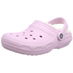B472079 Crocs Men's and Women's Classic Lined Clog | Warm and Fuzzy Slippers Mule