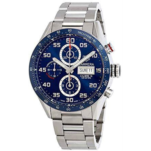 E801277 [관부세포] Tag Heuer Carrera Day Date Automatic Chronograph 43mm Mens Watch CV2A1V.BA0738