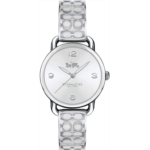 K177308 Coach Delancy Silver Dial Ladies Bangle Watch 14502891