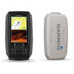 M917626 Garmin STRIKER PLUS 4cv Bundle with CV20-TM transducer and Protective Cover, 4 inches 010-01871-00