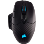 O852777 Corsair Dark Core - RGB Wireless Gaming Mouse - 16,000 DPI Optical Sensor - Comfortable & Ergonomic - Play Wired or Wireless