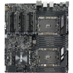 Q755057 [관부세포] ASUS WS C621E Sage Extreme Power Intel Xeon Processor Workstation Motherboard for Two-way XEON CPU performance, with U.2, M.2 connectors, dual Gb LAN, USB 3.1 Type-C & Type-A, 10 x SATA