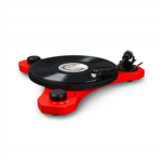 N175013 [관부세포] Crosley C3 2-Speed Belt-Drive Turntable with Audio-grade MDF Plinth and RCA Output, Red