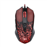 P622302 [관부세포] Redragon M608 Wired Gaming Mouse Ergonomic LED Back Light PC Laptop Computer Gaming Mouse 4 LED Colors 2 Side Buttons 3200 DPI User Programmable