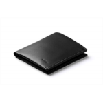 W552700 Bellroy Note Sleeve Wallet (Slim Leather Bifold Design, RFID Blocking, Holds 4-11 Cards, Coin Pouch, Flat Note Section)