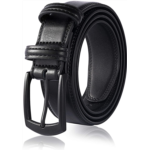 H467944 Men's Genuine Leather Dress Belt, Handmade, 100% Cow Leather, Fashion & Classic Designs for Work Business and Casual