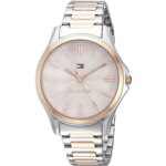 T290209 Tommy Hilfiger Women's Quartz Watch with Two-Tone-Stainless-Steel Strap, 14 (Model: 1781952)