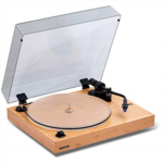 K243903 [관부세포] Fluance RT85 Reference High Fidelity Vinyl Turntable Record Player with Ortofon 2M Blue Cartridge, Acrylic Platter, Speed Control Motor, Solid Wood Plinth, Vibration Isolation Feet - Pi