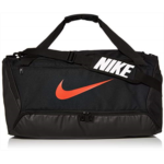 S673056 Nike Brasilia Training Medium Duffle Bag, Durable Nike Duffle Bag for Women & Men with Adjustable Strap