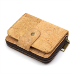 Q323280 Natural cork lady women wallet zipper card vegan wallet BAG-249