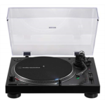A371951 [관부세포] Audio-Technica AT-LP120XUSB-BK Direct-Drive Turntable (Analog & USB), Fully Manual, Hi-Fi, 3 Speed, Convert Vinyl to Digital, Anti-Skate and Variable Pitch Control