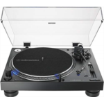 L544829 [관부세포] Audio-Technica AT-LP140XP-BK Direct-Drive Professional DJ Turntable, Black, Hi-Fi, Fully Manual, 3 Speed, High Torque Motor