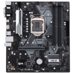 N906659 [관부세포] Asus Prime B365M-A LGA-1151 Support 9th/8th Gen Intel Processor with Aura Sync RGB Header, DDR4 2666MHz, M.2 Support, HDMI, SATA 6Gbps mATX Motherboard