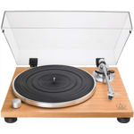 A852637 [관부세포] Audio-Technica AT-LPW30TK Fully Manual Belt-Drive Turntable, 2 Speed, Adjustable Dynamic Anti-Skate Control