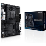 B626841 [관부세포] ASUS AMD AM4 Pro WS X570-Ace ATX Workstation Motherboard with 3 PCIe 4.0 X16, Dual Realtek and Intel Gigabit LAN, DDR4 ECC Memory Support, Dual M.2, U.2, and Control Center