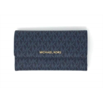 S798088 Michael Kors Women's Jet Set Travel Large Trifold Wallet