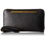 D622845 Fossil Leather Liza Zip Around Clutch Wallet With Retractable Wristlet Strap