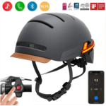 J674517 LIVALL Smart Bike Helmet with Auto Sensor LED,Turn Signal Tail Lights,Connects via Bluetooth, Certified Comfortable Cycling Helmet