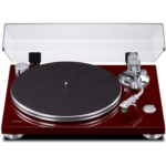 X805855 [관부세포] TEAC Analog Turntable with Built-in Phono Amplifier (Cherry) TN-3B-CH【Japan Domestic Genuine Products】【Ships from Japan】